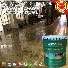 self-leveling dust resistant liquid resin epoxy floor cement flooring