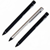 2.3 MM Digital capacitance Screen Pen Active stylus Pen with usb charging for Iphone Ipad and Android cellphone (silver)