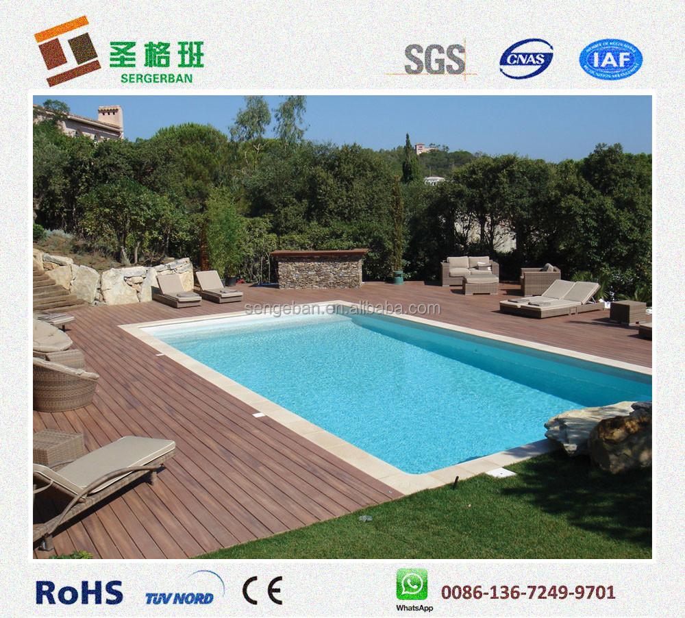 Wpc piscine terrasses composite piscine rev tement en for Piscine en plastique