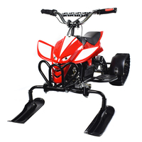 Chinese manufacturer cheap mini kids crawler snowmobile electric winter snow mobile scooter for sale