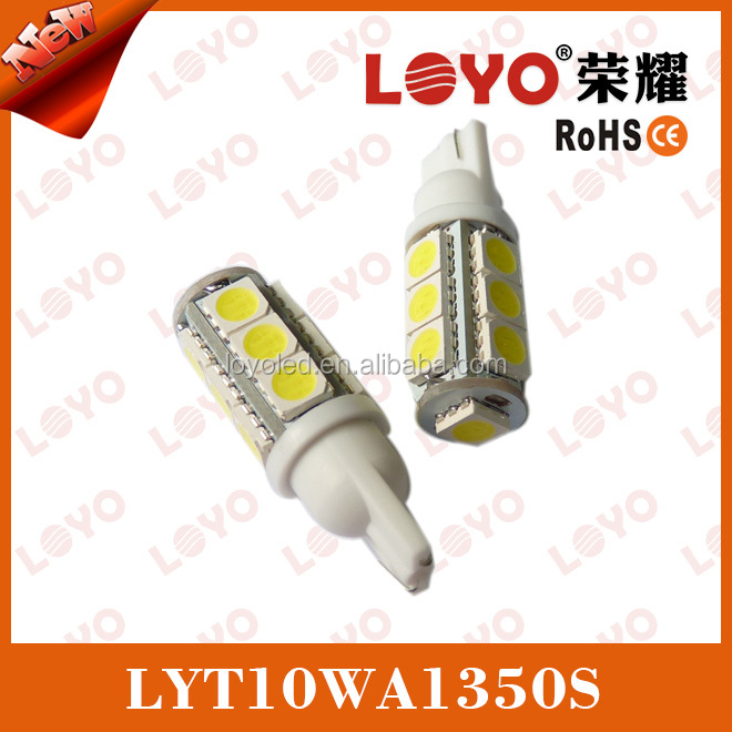 Hot sale!!!T10 13pcs 5050SMD signal light, 13 pieces auto led lamp 5050SMD signal light