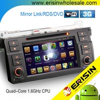 "Erisin ES9062B 7"" 2 Din Android 4.4.4 Car Radio DVD Player for E46 M3"