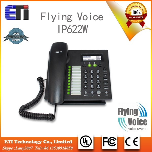 IP622W Multiple Functional voice over internet phone