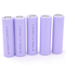 China manufaturer 2600mAh real capacity 18650 battery rechargeable 3.7v cylinder lithium-ion batteries for sale