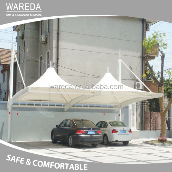 Sunshades for car parking