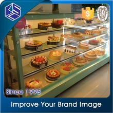 Diy bakery shop interior designs for bakery display case and showcase for sale
