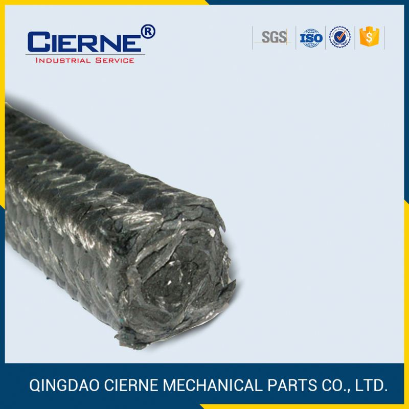 square carbon fiber teflon gland packing
