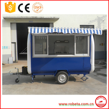 High quality China food van/mobile restaurant/fast food car for sale