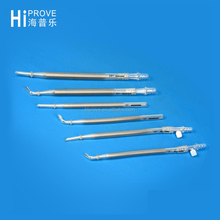 Disposable Reinforced Metal Straight Head Arterial Cannula