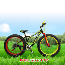 26 INCH MTB BIKE /7 SPEED/SNOW STEEL MTB FRAME/FAT MOUNTAIN BIKE