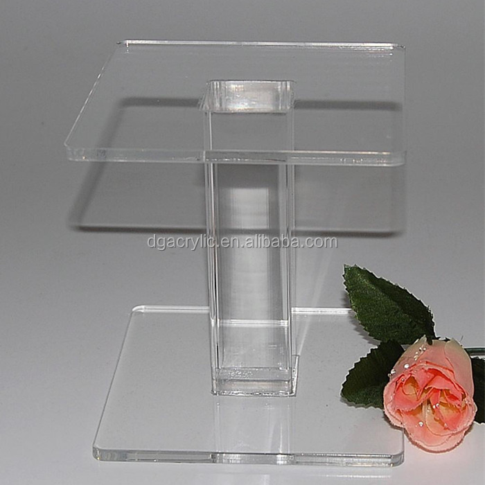 wholesale custom made acrylic pedestal cake stand