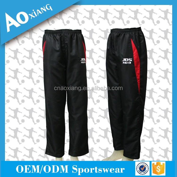 Wholesale cutomize soccer tracksuit pants for training wear