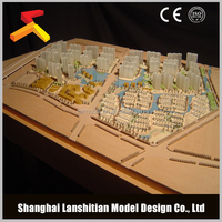 3d architectural rendering for commercial scale model