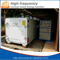 HF/RF microwave vacuum wood drying machine for osk teak walnut wood