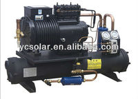 supplying different power condensing unit for cold storage