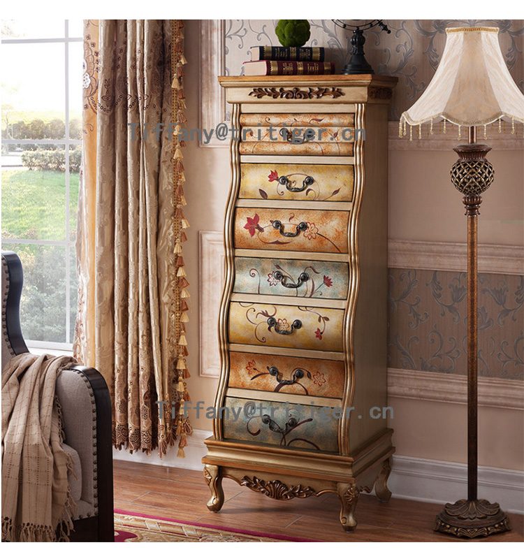 bedroom <strong>furniture</strong> Vintage Classical <strong>Antique</strong> America <strong>Style</strong> cabinet solid