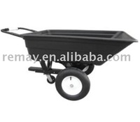 Garden Tipcart , poly tipper cart , ATV trailer TC3080PL
