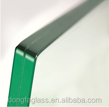 PVB/SGP Clear Glass tempered Security Laminates