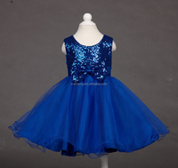 one piece blue party dresses for girls of 7 years old
