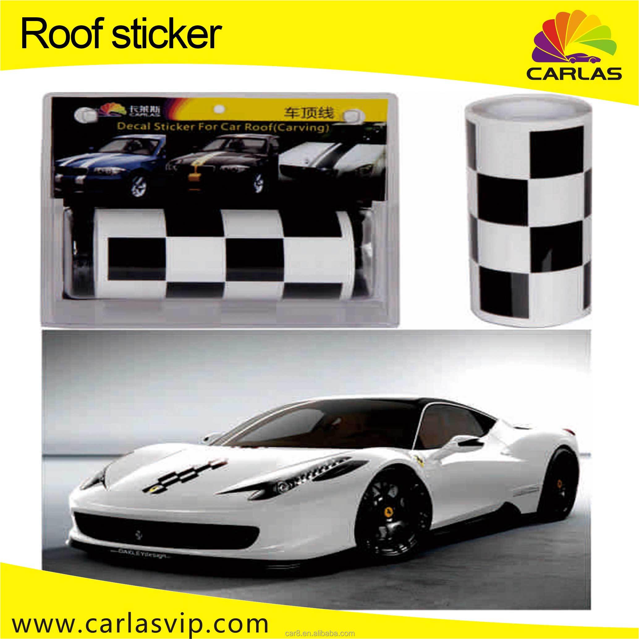 Automatique ligne de toit autocollant de décalque de voiture de sport de course rayures buy rayures de courseautocollants de décalqueautocollant de
