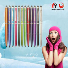 2014 import elegant promotional plastic pen for advertising