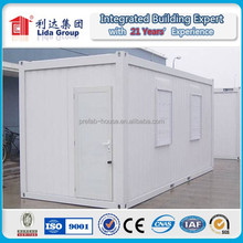 Well Design Modular 20ft container house with hydraulic
