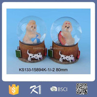Snow Crystal Ball For Resin Crafts