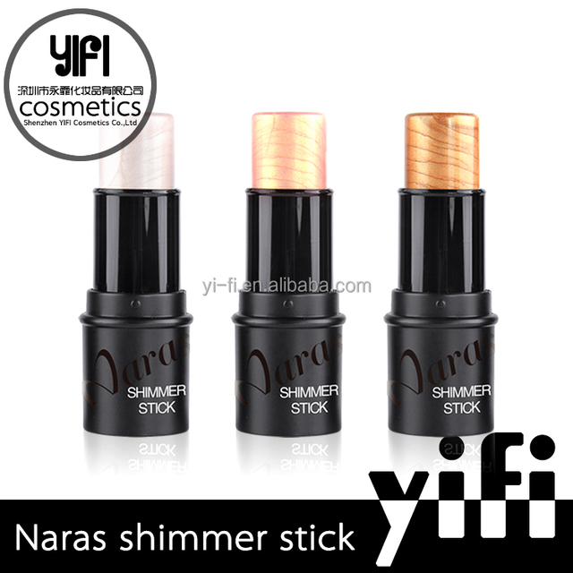 Set Packaging and Highlighter Type Naras 3colors makeup foundation