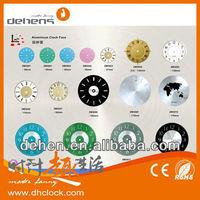 Design Dial aluminum Wall Clock Parts