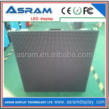 LED display screen for rental indoor use with die-casting aluminum p4 panel Die-cast aluminum led display screen for rental