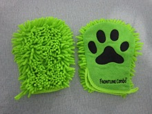 Better Petter Dog & Cat Brush Glove - Gentle Grooming Mitt Your Pet Will Love it