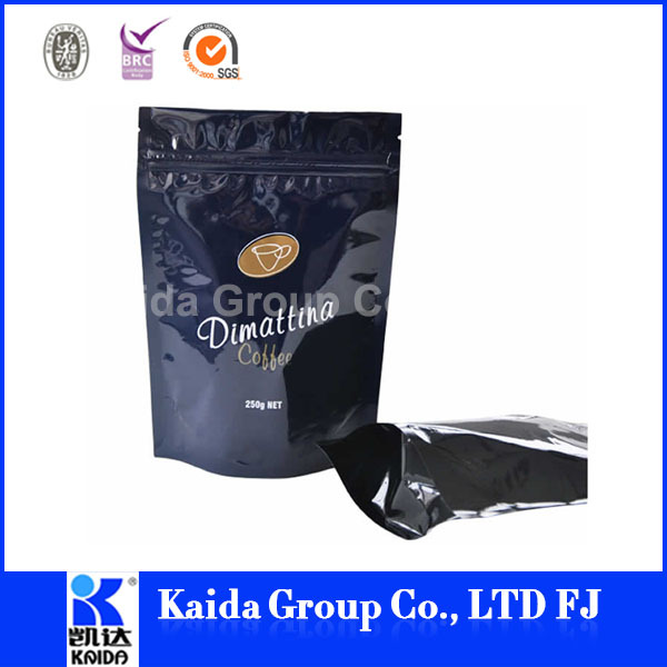 coffee bag with tin tie wholesale in china packaging bag coffee bag