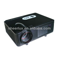 hd led projector/proyector/beamer native 1280*800 3000lumens 3D supported with hdmi&usb&tv