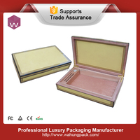 Customize Empty Wooden Humidor Storage Cigars & Cgarette Case for Sale (WH-3820-JP)