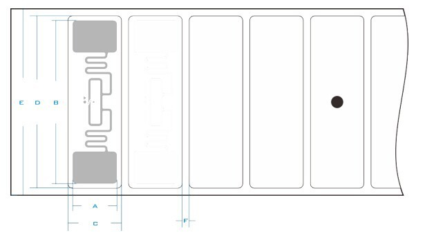 Printable EPC CLASS1 GEN2 Impinj Chip UHF Smart RFID Label