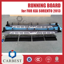High Quality Aluminum Running Board for Kia Sorento 2013