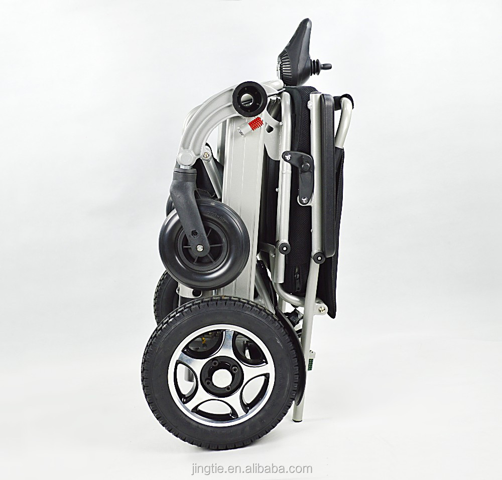 Super Lightweight Elderly Outdoor Travel Electric Wheelchair Motor with 200w(2 total 400W)