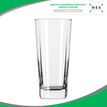 Transparent glass drinking tumbler for home