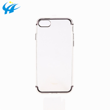 wholesale cell phone accessories tpu transparent case universal silicone bumper case for mobile phone