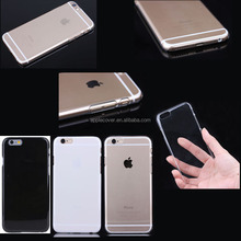 Low price crystal clear PC hard Case For apple iphone 6 , for i phone 6 clear case