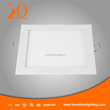 square led slim down light 6w milk white
