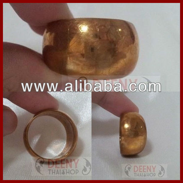 Thai amulet the copper antique ring from LP see