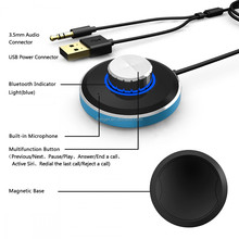 Hot selling micro bluetooth receiver wifi music receiver car bluetooth music receiver audio adapter to car aux/ stereo