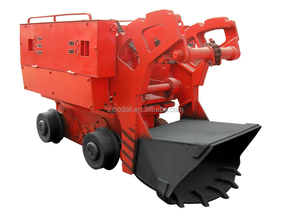 undergroud mining Chinese single-side curved rail dumping mine car