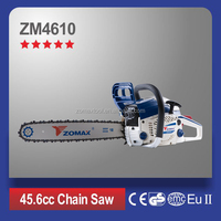 Electric start gas chain saw hydraulic chain saw with 18 inch chain bar