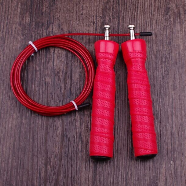 Crossfit Speed Jump Rope Wire Skipping Rope Adjustable Gym Equipment