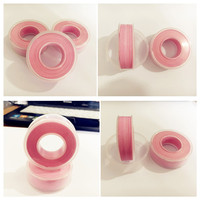 Pink color ptfe tape for water works