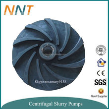 Natural Rubber & Stainless Steel Centrifugal pump impeller