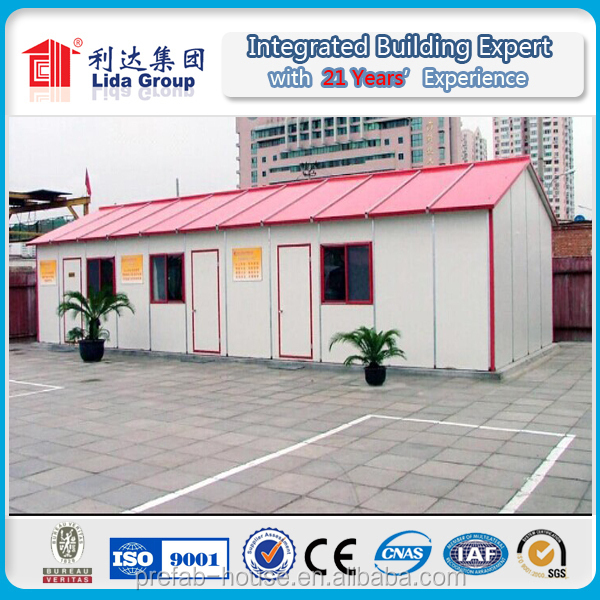 High Quality CE Certificate Low Cost Steel Structure Prefab House