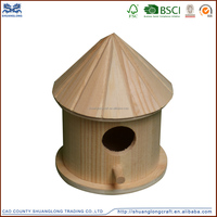 New design handicraft wooden bird house in pet cages ,carriers&houses ,unfinished wooden birdhouse wholesale